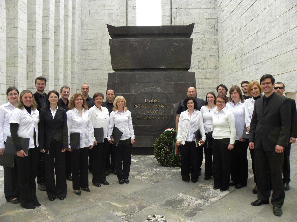 Mešani pevski zbor Sveti Anton Kobarid