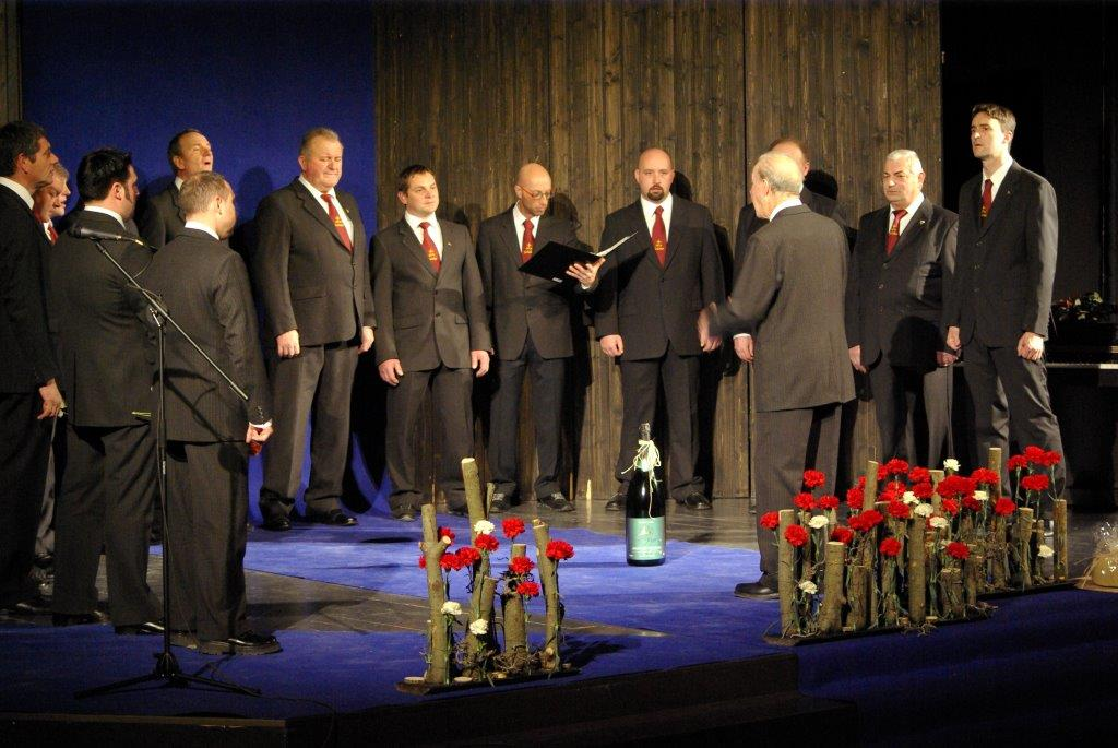 Moški pevski zbor Golobar Bovec