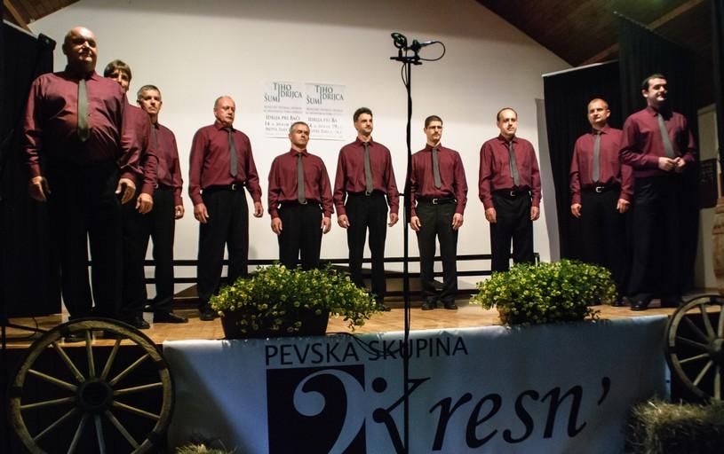 Društvo Pevska skupina Kresn'