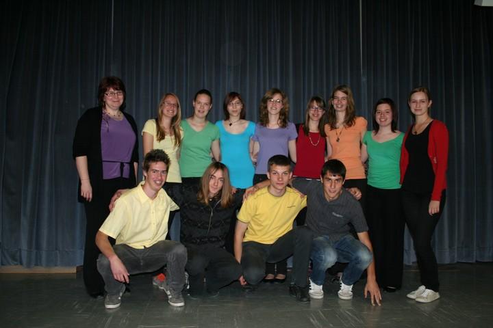 Mešani mladinski pevski zbor Gimnazije Tolmin